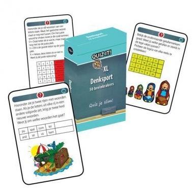 Schoolsupport leerkaarten Quiz it! Denksport XL