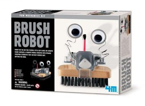 4M  Kidz Labs wetenschap speelgoed Borstelrobot-1