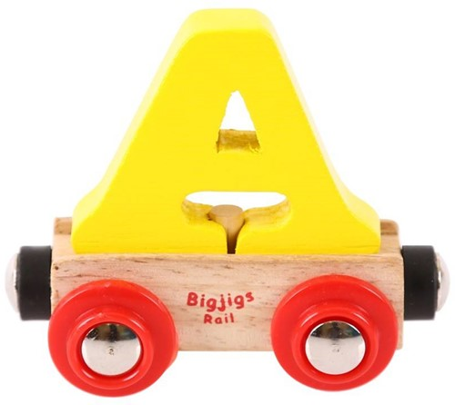 BigJigs Rail Name Letter A , BIGJIGS, LETTERTREIN A-2
