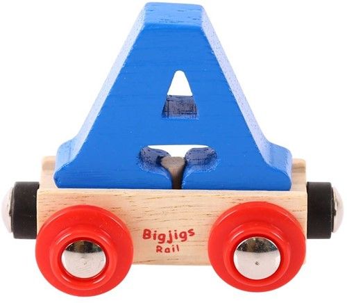BigJigs Rail Name Letter A , BIGJIGS, LETTERTREIN A-3