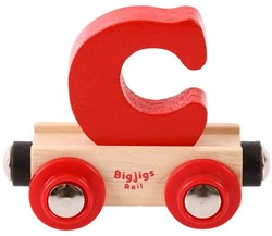 BigJigs Rail Name Letter C, BIGJIGS, LETTERTREIN C