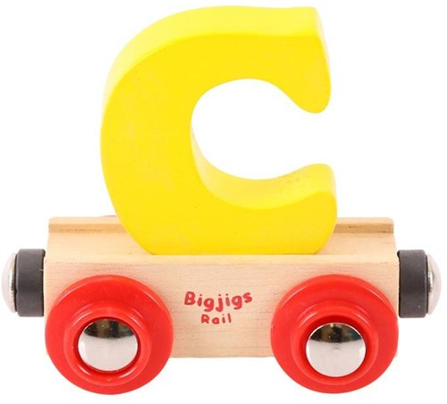 BigJigs Rail Name Letter C, BIGJIGS, LETTERTREIN C-2