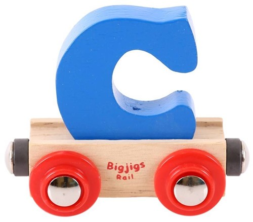 BigJigs Rail Name Letter C, BIGJIGS, LETTERTREIN C-3