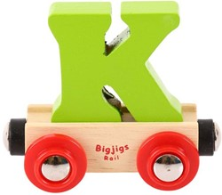 BigJigs Rail Name Letter K, BIGJIGS, LETTERTREIN K