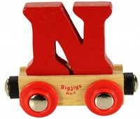 BigJigs Rail Name Letter N, BIGJIGS, LETTERTREIN N