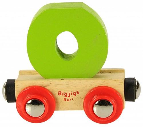 BigJigs Rail Name Letter O, BIGJIGS, LETTERTREIN O