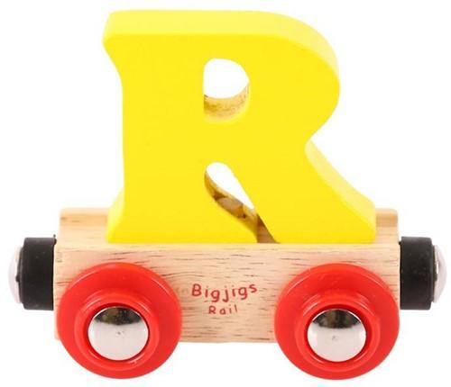 BigJigs Rail Name Letter R, BIGJIGS, LETTERTREIN R-2