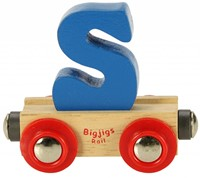 BigJigs Rail Name Letter S, BIGJIGS, LETTERTREIN S