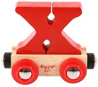 BigJigs Rail Name Letter X (6)-1