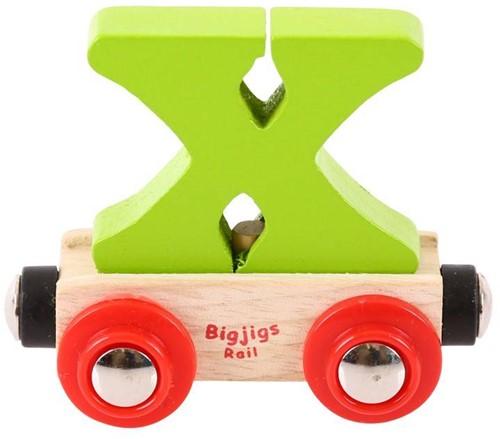 BigJigs Rail Name Letter X, BIGJIGS, LETTERTREIN X-2