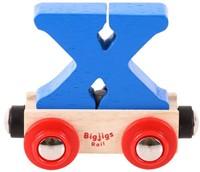 BigJigs Rail Name Letter X, BIGJIGS, LETTERTREIN X-3