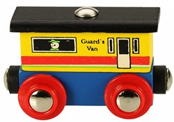BigJigs Rail Name Guards Van