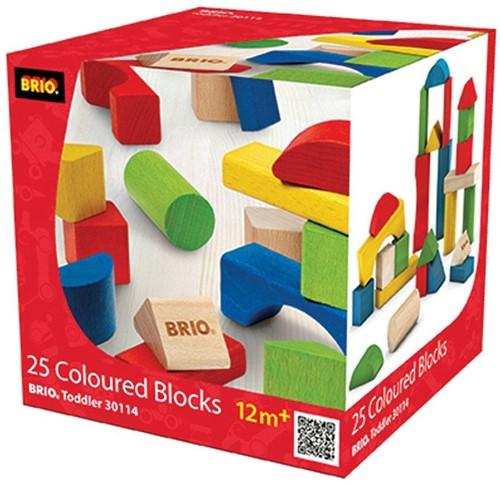 BRIO speelgoed Gekleurde blokken 25 stuks-2