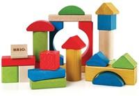 Brio  houten bouwblokken Gekleurde 25 stuks 30114-1