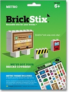 Planet Happy BrickStix Stickers: Metro
