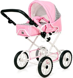 Brio poppen accessoire Poppenwagen Combi Pink