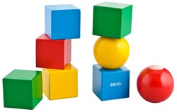 Brio  houten bouwblokken Magnetische stapelblokken 30123
