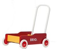 BRIO speelgoed Geel-rode loopwagen-1