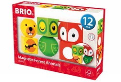 Brio  houten leerspel Magnetic Animals