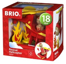Brio  speelvoertuig Reddingshelicopter