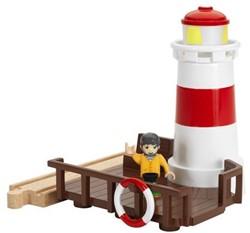 Brio  houten trein accessoire Vuurtoren 33597