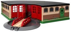 Brio  houten trein gebouw Grand roundhouse 33736