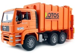 Bruder  - MAN Vuilniswagen oranje
