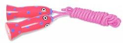 Buitenspeel  buitenspeelgoed Springtouw roze vis