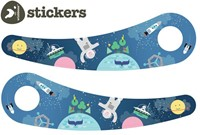 Wishbonebike loopfiets accessoires recycled stickers Space-3