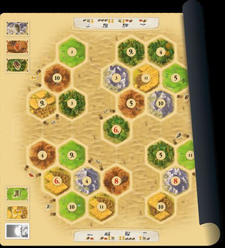 999 Games Catan playmat Desert - Bordspel - 10+