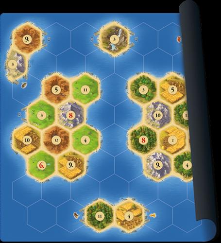 999 Games Catan playmat Islands - Bordspel - 10+