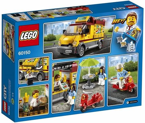 LEGO City Pizza bestelwagen 60150-2
