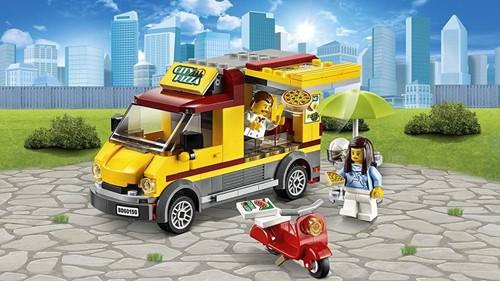 LEGO City Pizza bestelwagen 60150-3