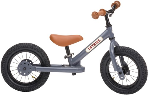 Trybike loopfiets staal Grijs - tweewieler