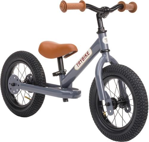 Trybike loopfiets staal Grijs - tweewieler-2