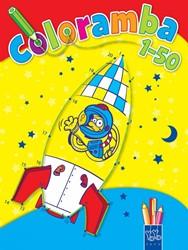 Planet Happy  kleurboek Coloramba 1 tot 50 2