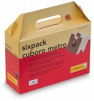Cuboro  houten knikkerbaan set Sixpack cuboro metro - 142-1