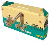 Cuboro  houten knikkerbaan set Cugolino hit - 87-1
