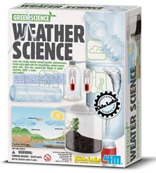 4M  Green Science wetenschapsdoos Weather science
