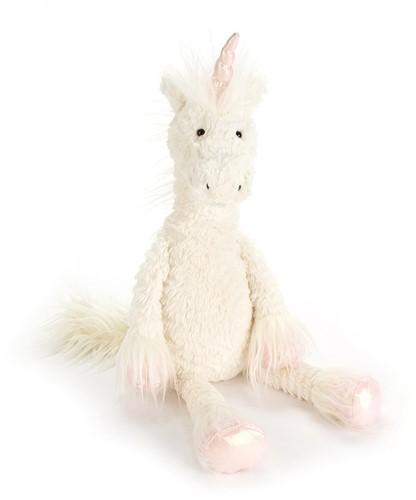 Jellycat knuffel Dainty Unicorn Klein 34cm