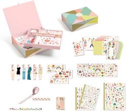 Djeco knutselspullen Tinou box set