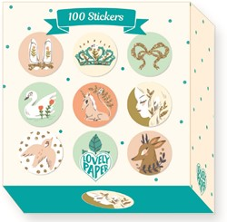 Djeco stickers 100 Lucille stickers