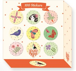 Djeco stickers 100 Chic stickers