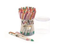 Djeco balpennen 36 blue ballpoint pens
