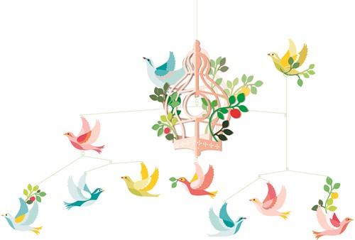 Djeco Cage aux oiseaux