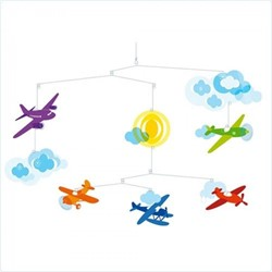 Djeco mobiel Vliegtuigen