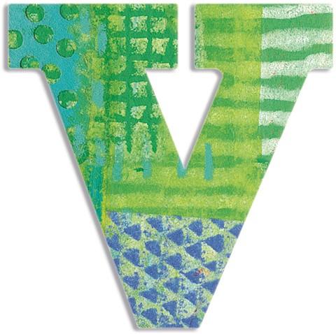 Djeco V - Peacock letter