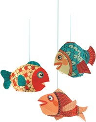 Djeco hang decoratie Little fishes