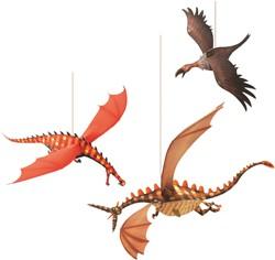 Djeco hang decoratie Merciless dragons