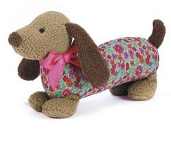 Jellycat  Dainty Dog Brown - 11 cm